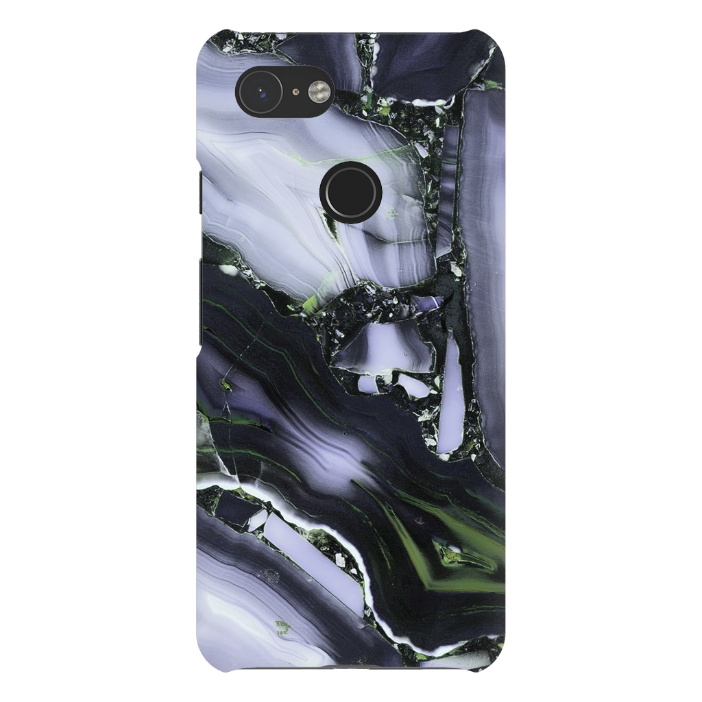 Lite Purple Cracked Marble Google Pixel X-3XL Series - Purdycase
