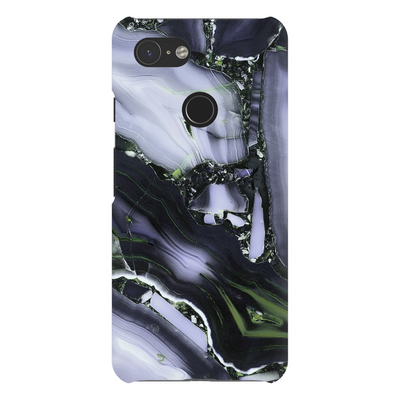 Lite Purple Cracked Marble Google Pixel X-3XL Series