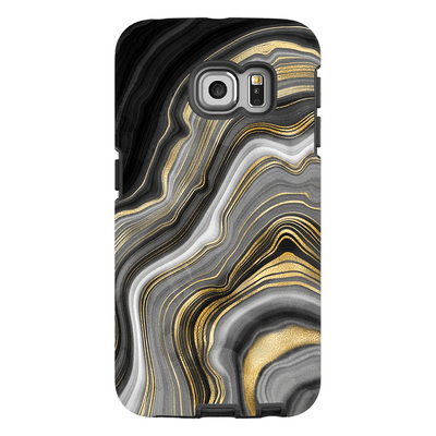 Black Gold Galaxy S6 Edge and S6 Edge Plus Tough Case - Purdycase