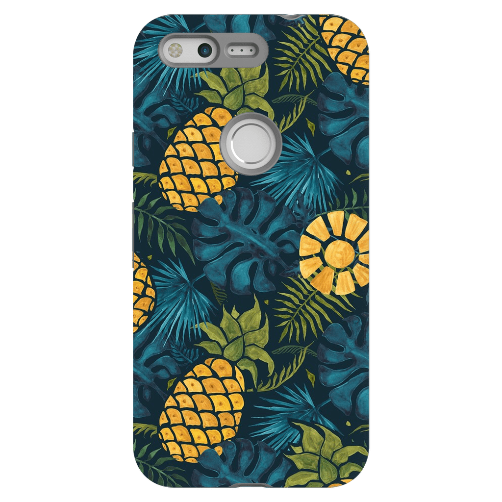 Blue Pineapple Google Pixel Series Case - Purdycase