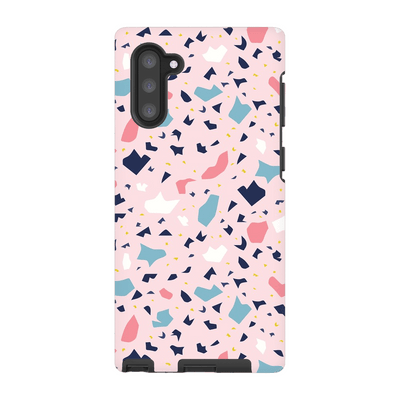 Terrazzo Pink Speckle Galaxy Note 10 and 10 Plus Tough Case - Purdycase