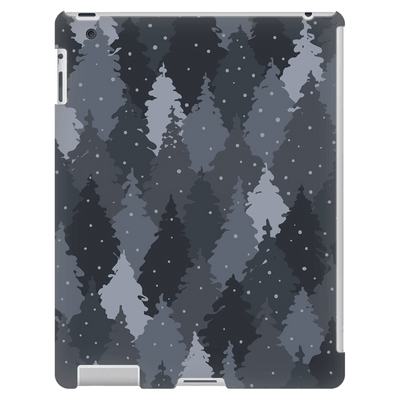 Forest Gray Camo iPad 3/4 Mini, Tablet Case