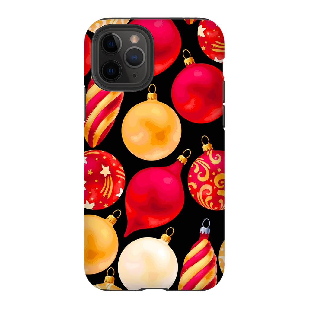 Christmas Red Bulbs iPhone 11 Series - Purdycase