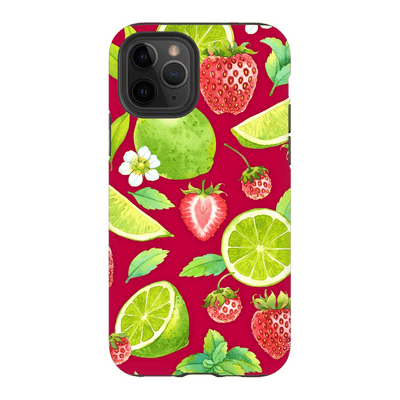 Strawberry Lime iPhone 11 Series
