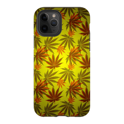 Yellow Cannabis iPhone 11 Series Tough Case
