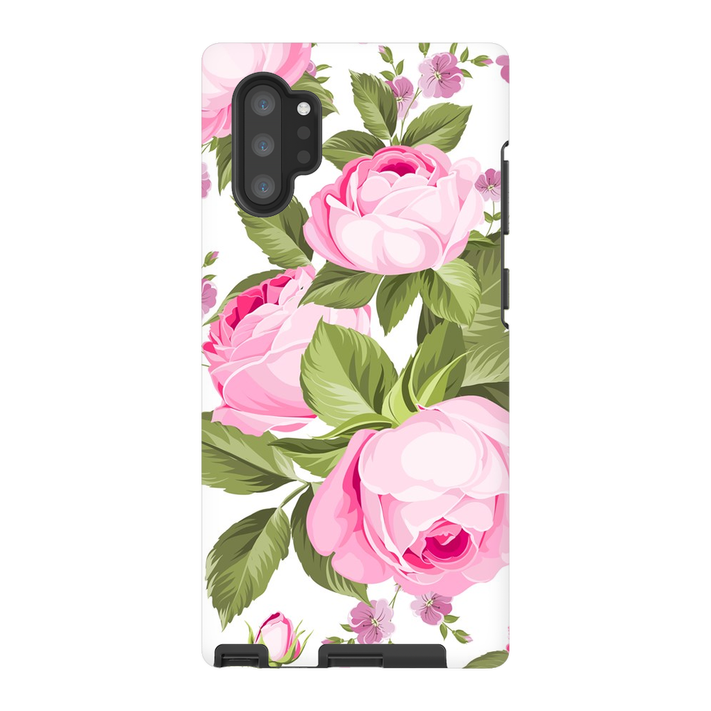 Pink Rose Medley Galaxy Note 8-10+ Series - Purdycase