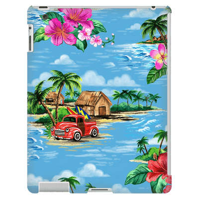 Blue Hawaiian iPad 3/4 Mini, Tablet Case