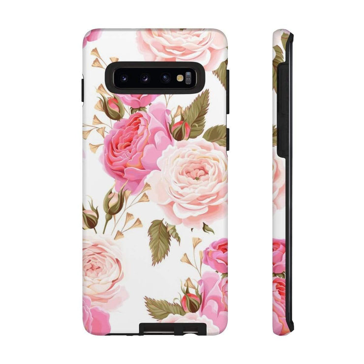 Lovely Rose Galaxy 10 Series Tough Case - Purdycase