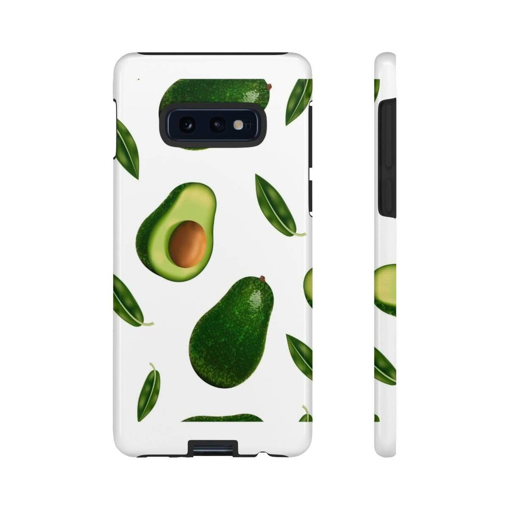 White Avocado Galaxy 10 Series Tough Case - Purdycase