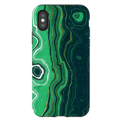 Malachite Agate iPhone X-XS Max