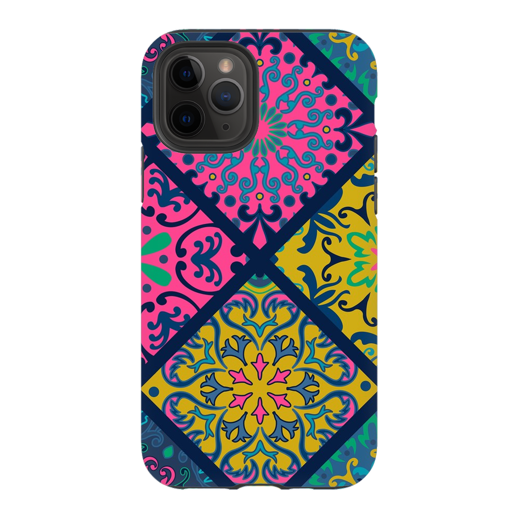 Pink Blue Mandala iPhone 11 Series - Purdycase