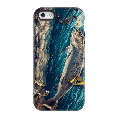 Trout Fishing iPhone 5/5s/SE Case - Purdycase