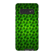 Green Cannabis Galaxy S10 Series Tough Case