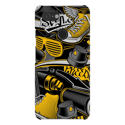 Graffiti Yellow Google Pixel Series Case