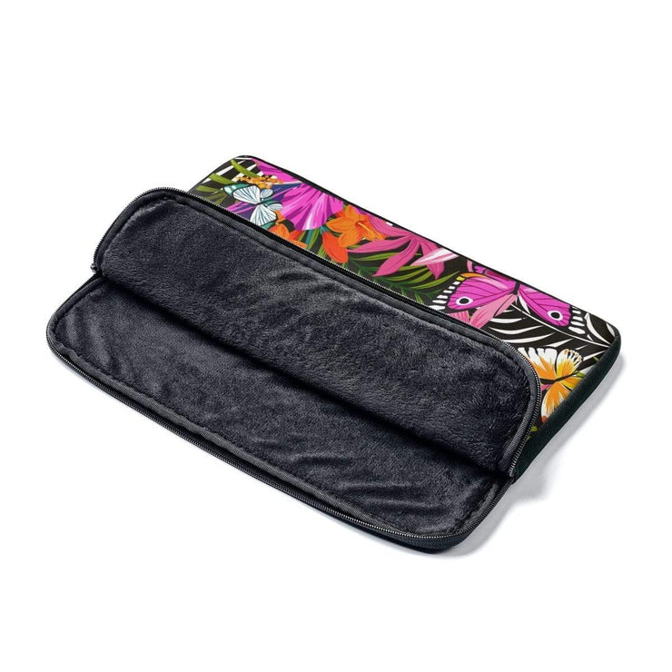 Tropical Butterfly Laptop Sleeve - Purdycase
