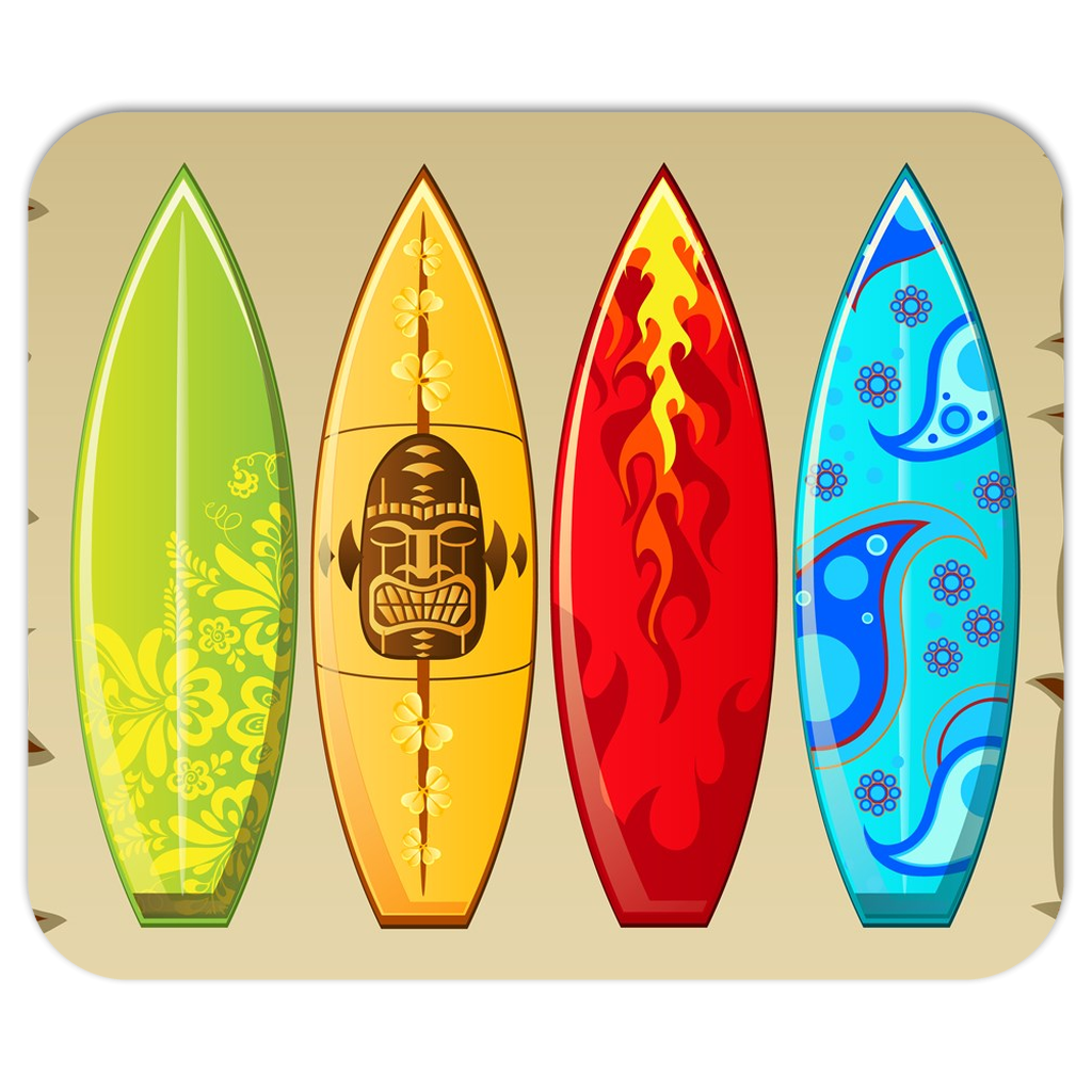 Surfboards Mouse Pad - Purdycase