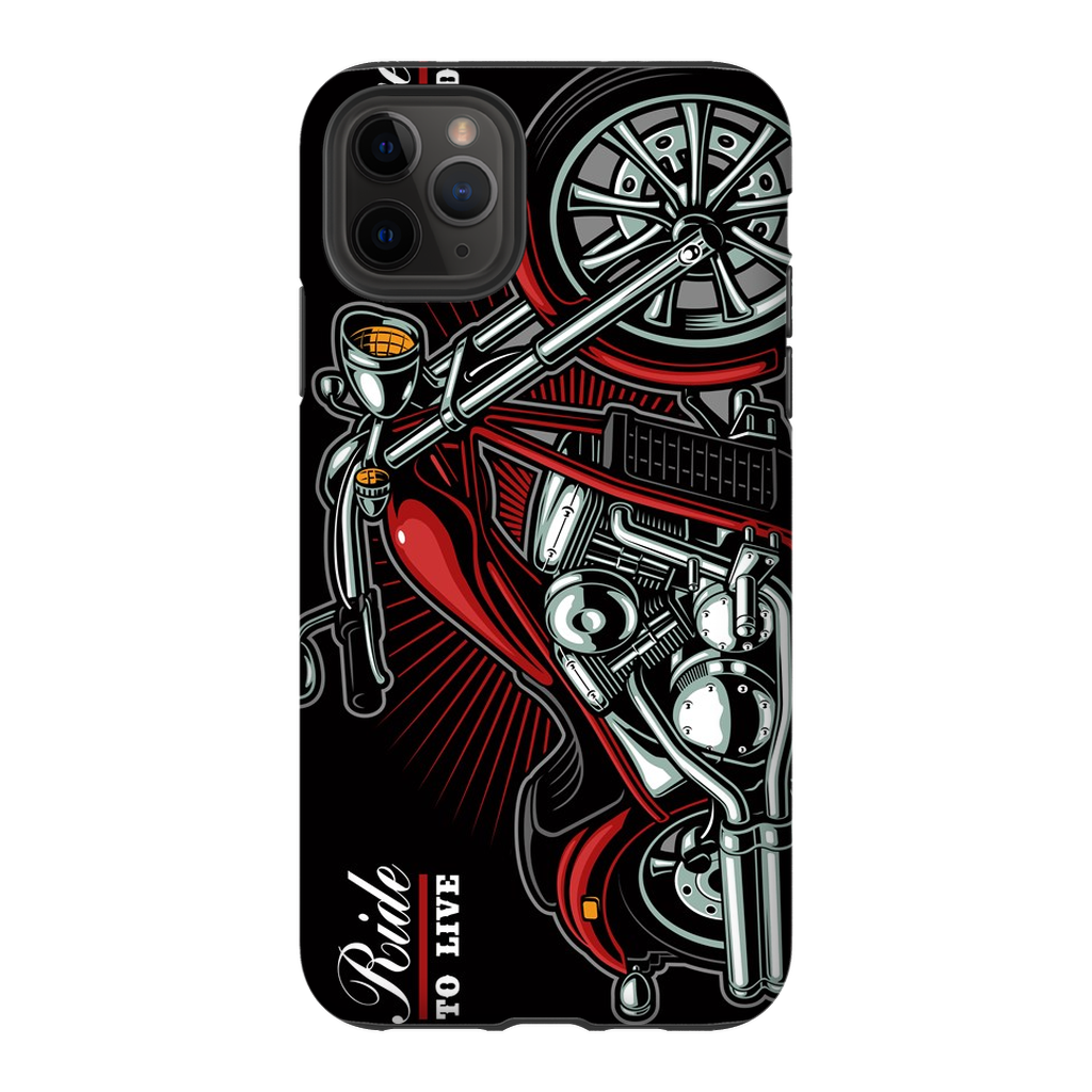 Ride to Live Motorcycle iPhone 11 Series - Purdycase