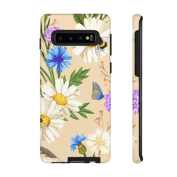 Butterfly Daisy Galaxy 10 Series Tough Case - Purdycase