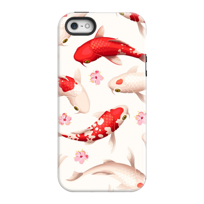 Japanese Red Koi iPhone 5-8 Plus Series