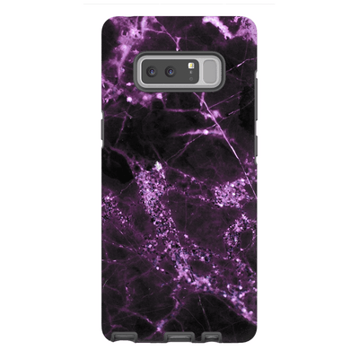 Midnight Plum Marble Galaxy Note 8-10Plus Series