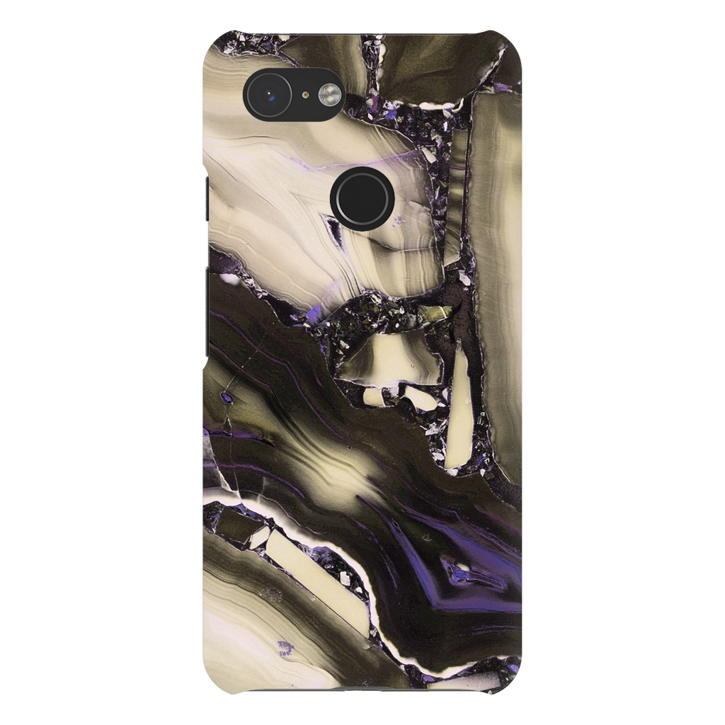 Tan Cracked Marble Google Pixel X-3XL Series - Purdycase
