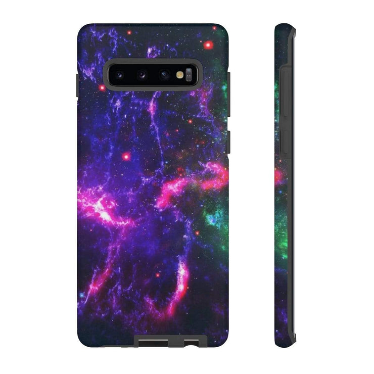 Purple Space Galaxy 10 Series Tough Case