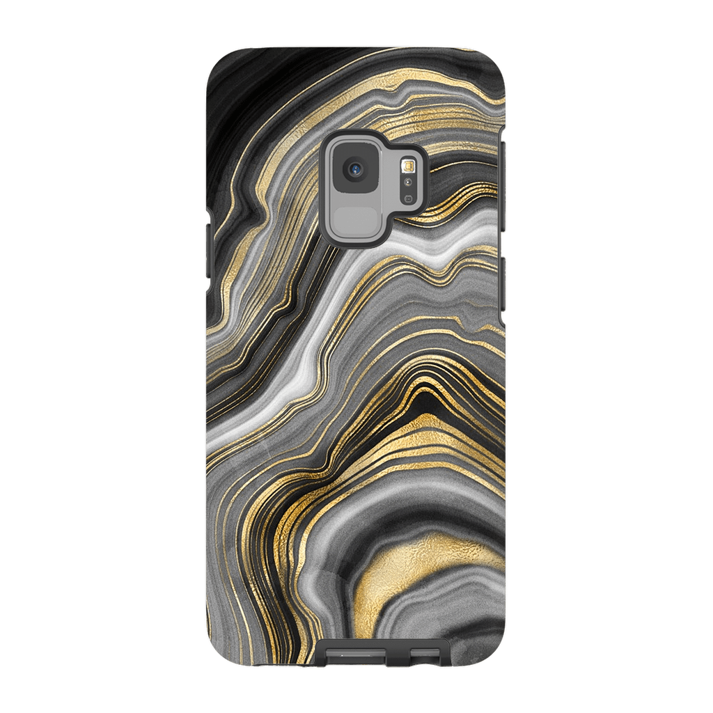 Agate Gold Galaxy S9 and S9 Plus Tough Case - Purdycase