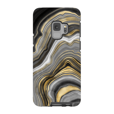 Agate Gold Galaxy S9 and S9 Plus Tough Case