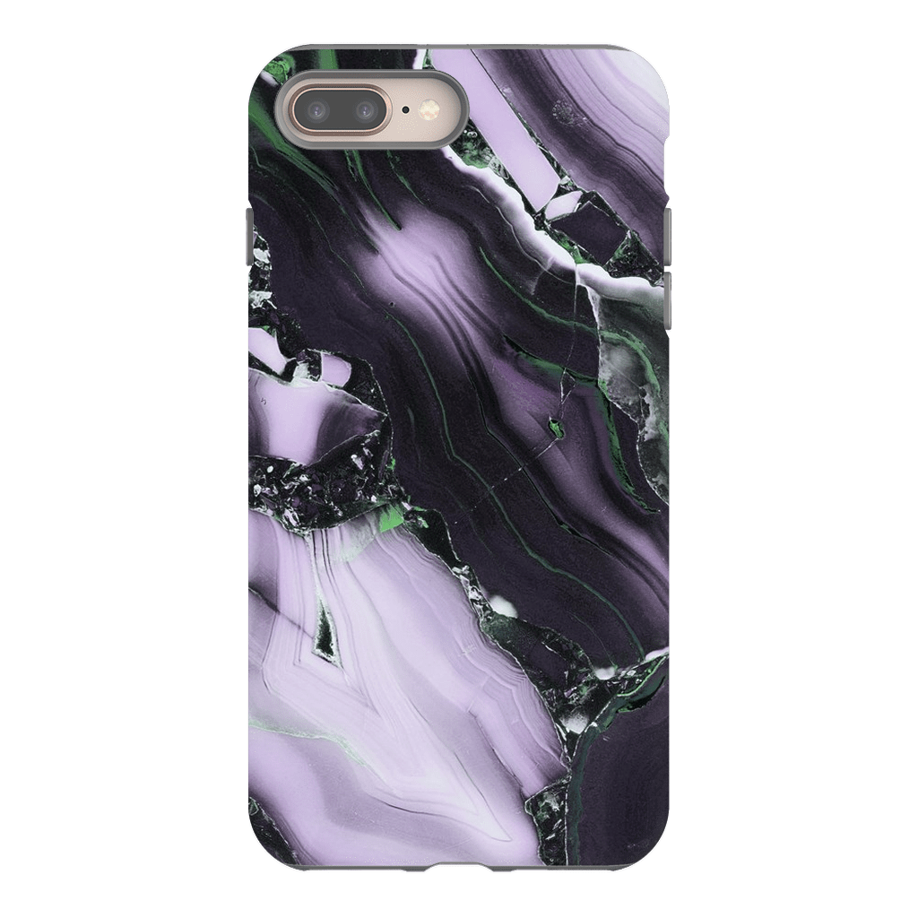 Purple Black Marble iPhone 8 and 8 Plus - Purdycase