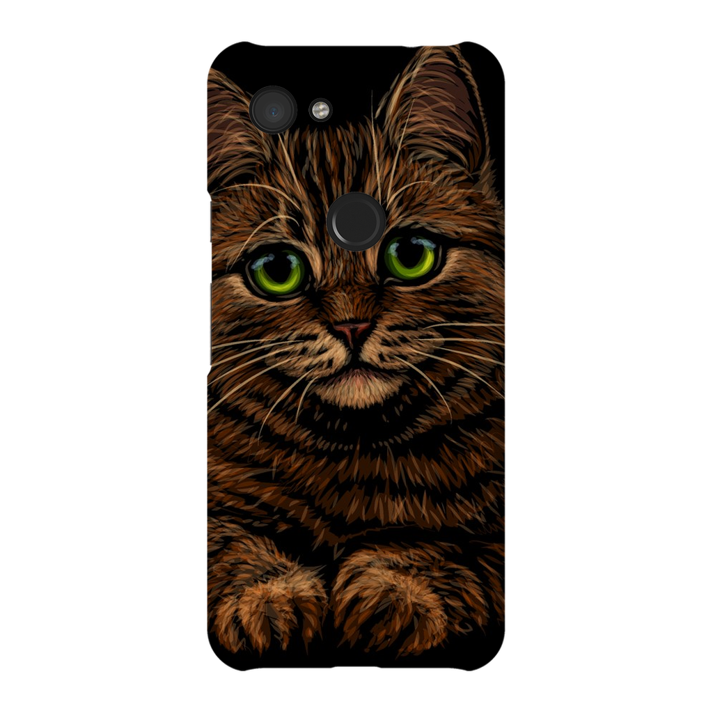Kitty Portrait Google Pixel X-3XL Series Snap Case - Purdycase