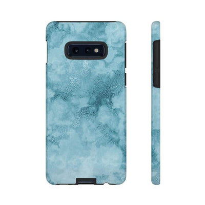 Teal Marble Galaxy 10 Series Tough Case