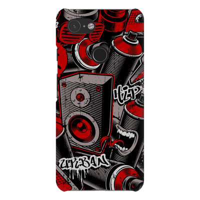Graffiti Red Google Pixel Series Case