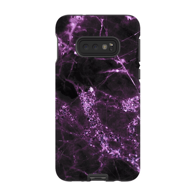 Midnight Plum Marble Galaxy S10 Series
