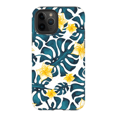 Tropical Yellow Floral iPhone 11 Series - Purdycase
