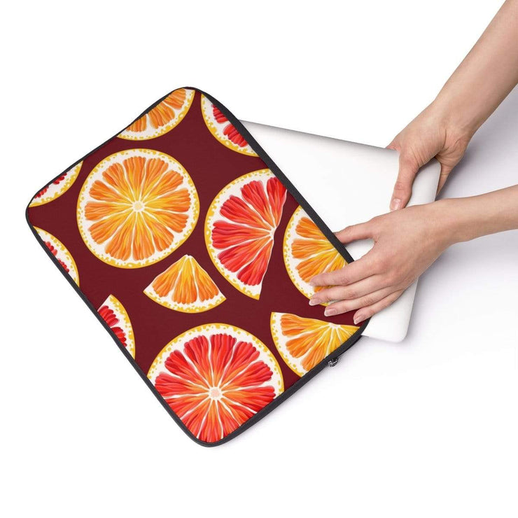 Orange Fruit Laptop Sleeve - Purdycase