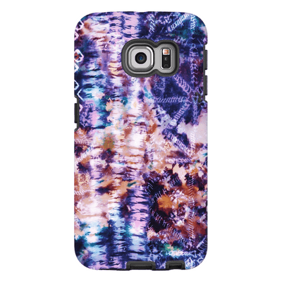 Purple Tie Dye S6 Edge and S6 Edge Plus Tough Case - Purdycase