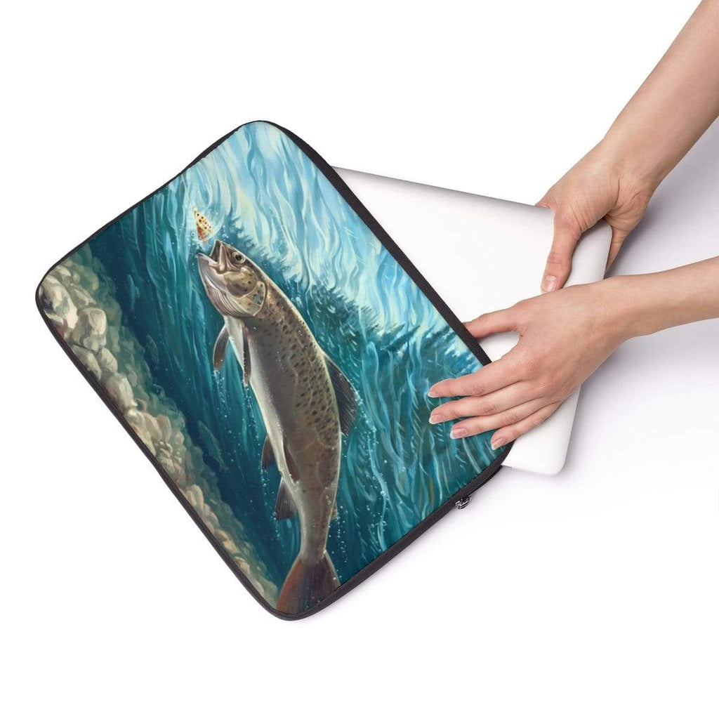 Trout Fish Laptop Sleeve - Purdycase
