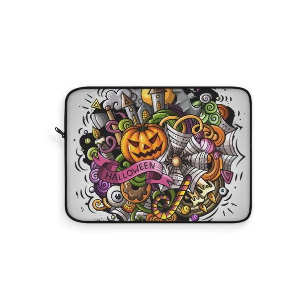 Scary Pumpkin Halloween Laptop Sleeve