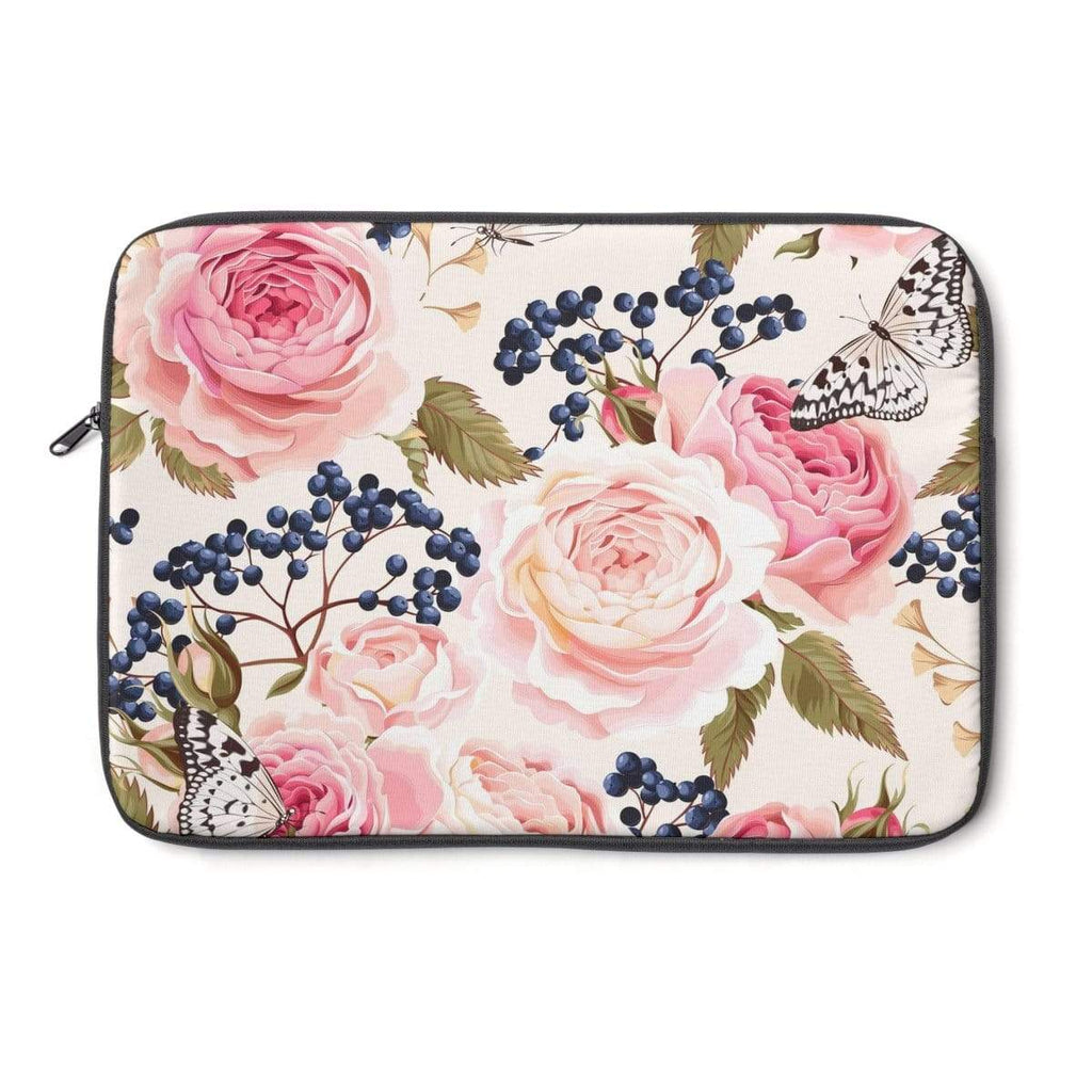 Rose Flower Laptop Sleeve - Purdycase