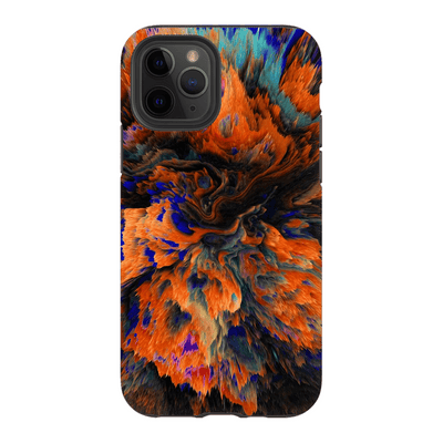 Orange Abstract iPhone 11 Series Tough Case