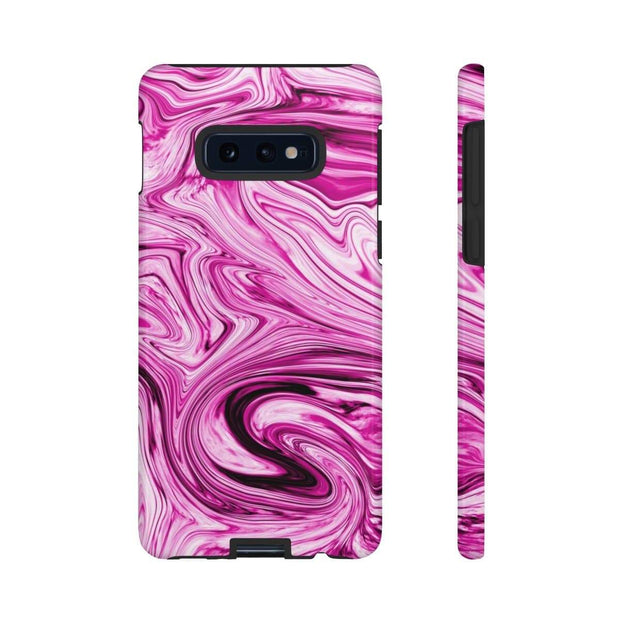 Pink Drizzle Marble Galaxy 10 Series Tough Case