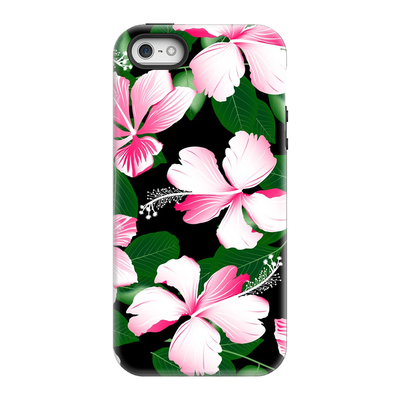 Hawaiian Pink Floral iPhone 5-11 Pro Max