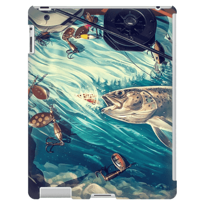 Trout Fish Lure iPad 3/4 Mini, Tablet Case