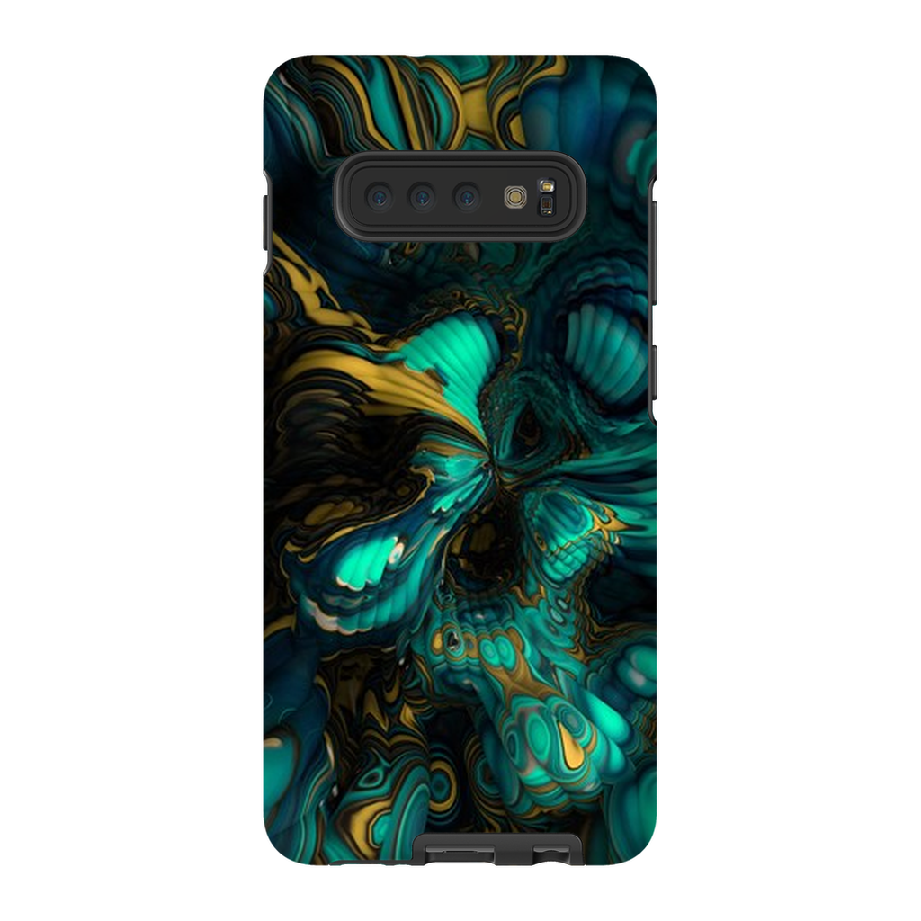 Turquoise Abstract Bubble Galaxy S10 Series - Purdycase
