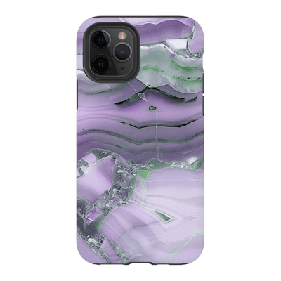 Purple Glaze Marble iPhone 11 Series Tough Case
