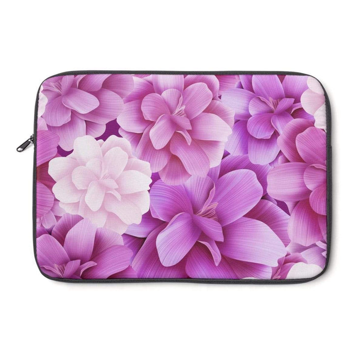 Pink Rose Flower Laptop Sleeve - Purdycase