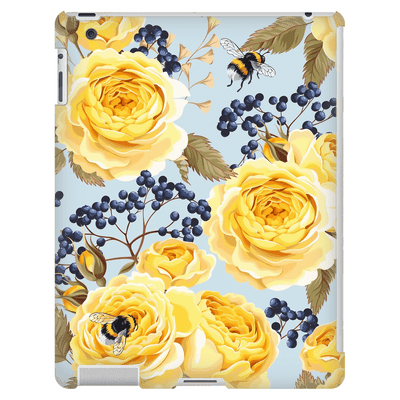 Yellow Roses iPad 3/4 Mini, Tablet Case
