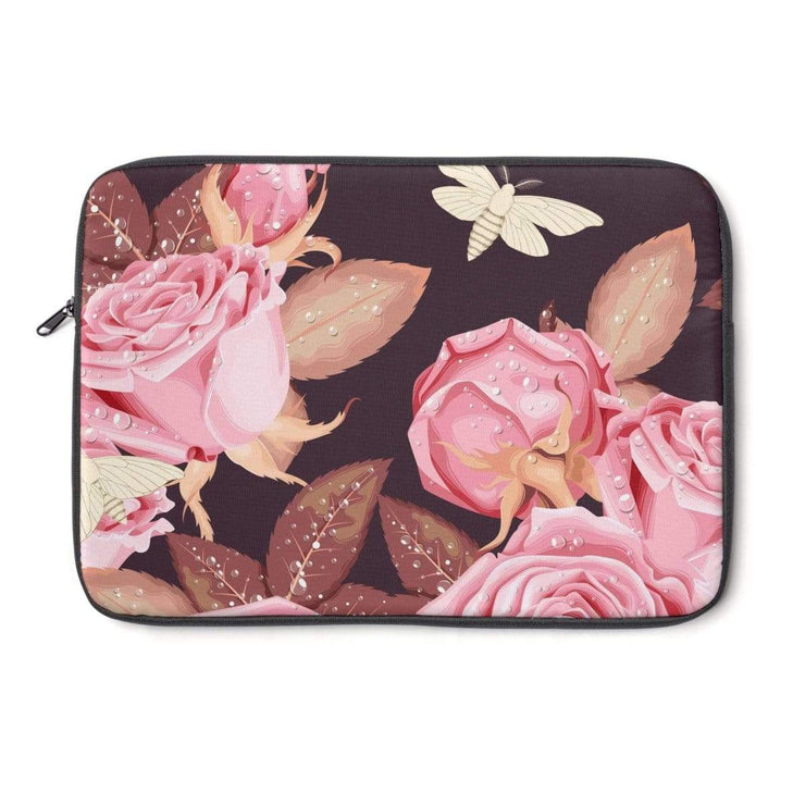 Pink Rose Laptop Sleeve - Purdycase