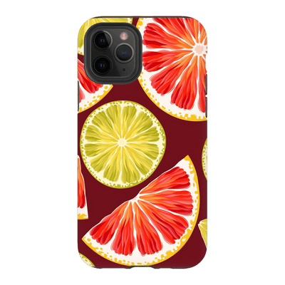 Orange Lime Fruit iPhone 11 Series