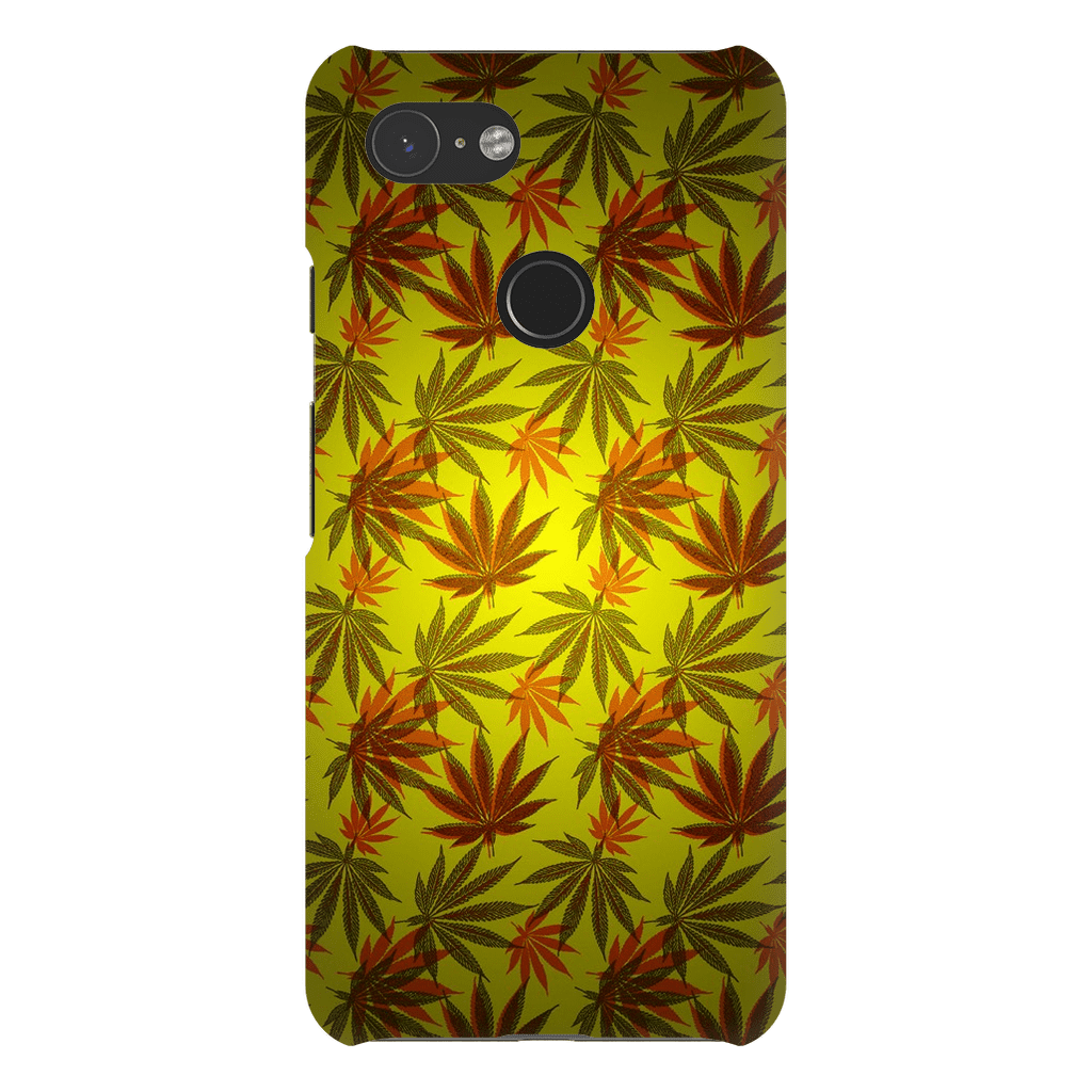 Yellow Cannabis Google Pixel Series - Purdycase